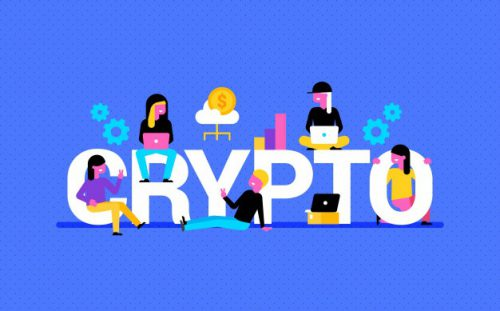 https://www.freepik.com/free-vector/crypto-background-with-colorful-elements-people_2795635.htm