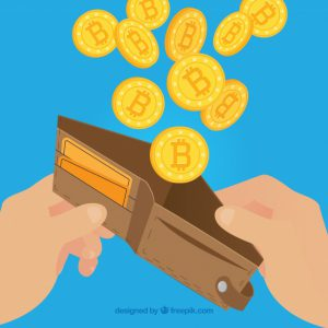 bitcoin-design-with-wallet_23-2147794035